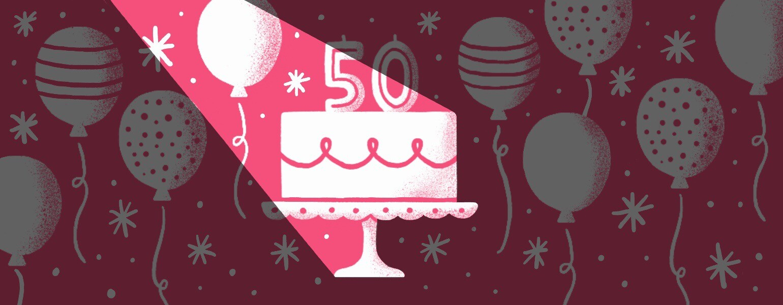 aarp, the girlfriend, birthday, 50
