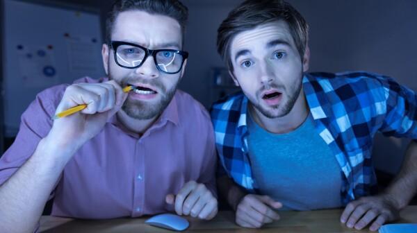 Smart nervous hackers working together