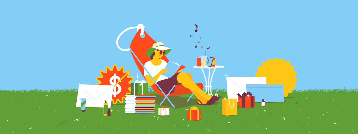 illustration_of_woman_sitting_enjoying_her_spring_summer_freebies_by_alice_mollon_1440x560.png