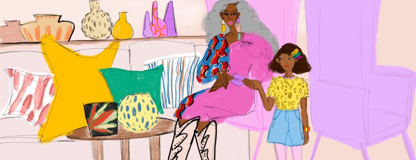 Grandma, glam, aarp, sisters