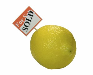 Selling a lemon investment