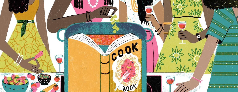 aarp, girlfriend, cookbook, club