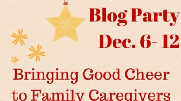 Amy Goyer shares her AARP Take Care blog and joins progressive holiday caregiving blog party.